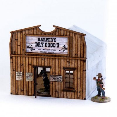 28S-DMH-135 - Camp Town Harper's Dry Goods (1/56th , 28mm)