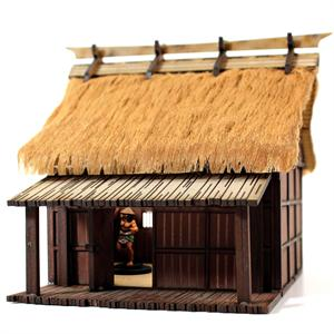 28S-EDO-102 Peasant Labourer's Dwelling (1/56th Prepainted Building)