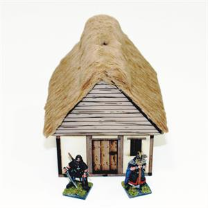 28S-DAR-104 Anglo/Danish Hovel Pre-Painted (1/56th)