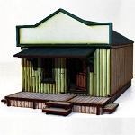 28S-DMH-101 - Side Street Western Building 1 (1/56th)