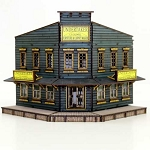 28S-DMH-109 - Western Pre-painted The Undertakers (1/56th)