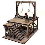 28S-DMH-110 - Western Pre-painted Gallows (1/56th)