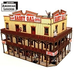 28S-DMH-118 - Western 'The Sassy Gal Saloon' (1/56th , 28mm)