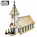 28S-DMH-119 - Rev. Johnson's Church (1/56th , 28mm)