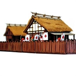 EDO-103 Village Wooden Fencing (1/56th)
