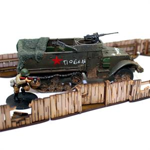 28S-TAO-112  Livestock Fencing (with gates) (1/56th)