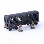 28S-DMH-146 - 19th C. Stock Car (Black)(1/56th , 28mm)