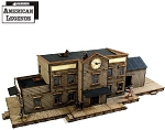 28S-DMH-123 - Dead Man's Hand Railroad Station (1/56th , 28mm)