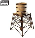 28S-DMH-124 - Dead Man's Hand Western Water Tower (1/56th , 28mm)