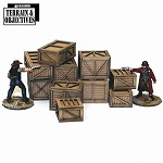28S-TAO-124 - Shipping Crates and Freight Boxes (1/56th)