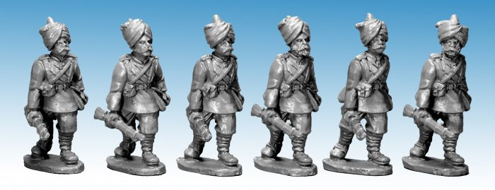 NWF0121 - Punjabi Infantry at Trail. 2nd Afghan War. (4)