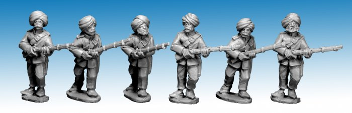 NWF1021 - Afghan Regular Infantry II (4). 2nd Afghan War