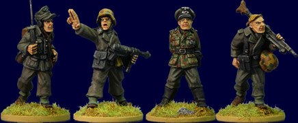 SWW030  Late War German Command II (4)