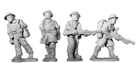 SWW103  British 8th Army Bren Teams (4)