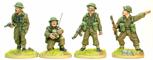 SWW130 - British and Commonwealth Infantry Platoon Command  (4)