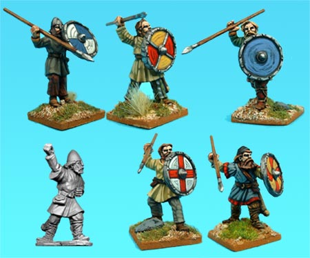 VIK002 - Viking Bondi Spearmen (6)