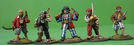 BG-BPP001  Buccaneers, Privateers and Pirates I (5)