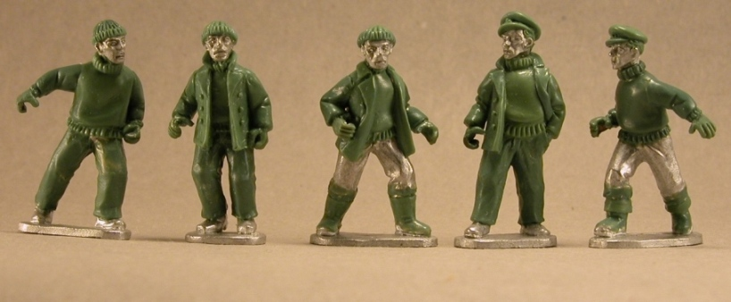 BG-EEP010  Merchant Crew I (customizable with the separate weapons sprue)(5)
