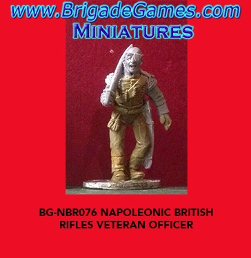 BG-NBR076  British Rifles Veteran Officer