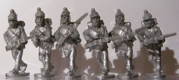 BG-NFR010  French Line Fusiliers Advancing Kleber Campaign Uniform,  Casquettes a Pouffes, Egypt Campaign (All 6 variants)