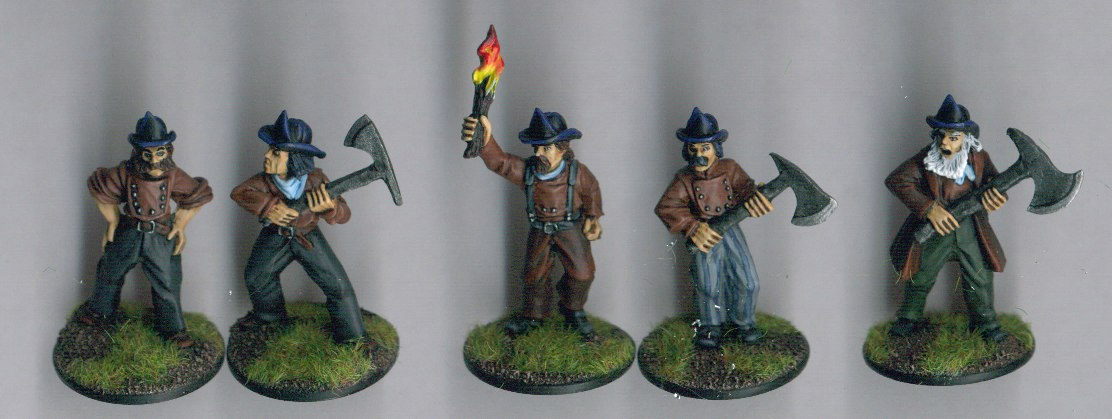 BG-VA05  Victorian Firemen/Firefighting Club (5)