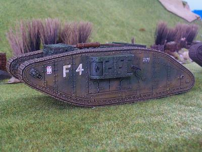 British Mark IV Tank - Female