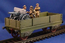 Armored Train Gondola  (1/56th)