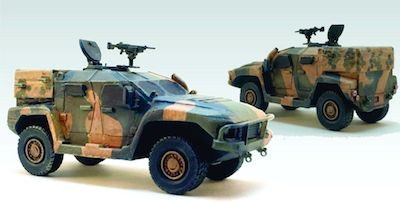 CB-MOD41  ADF Hawkei Light Protected Vehicle (1)(1/56th)