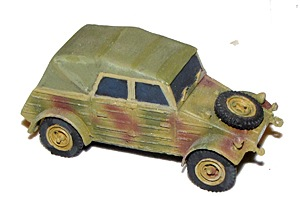 Closed Top Kubelwagen (1/56th)