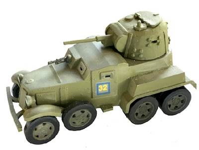 CB-RV13   BA-10 Armored Car (1/56th)