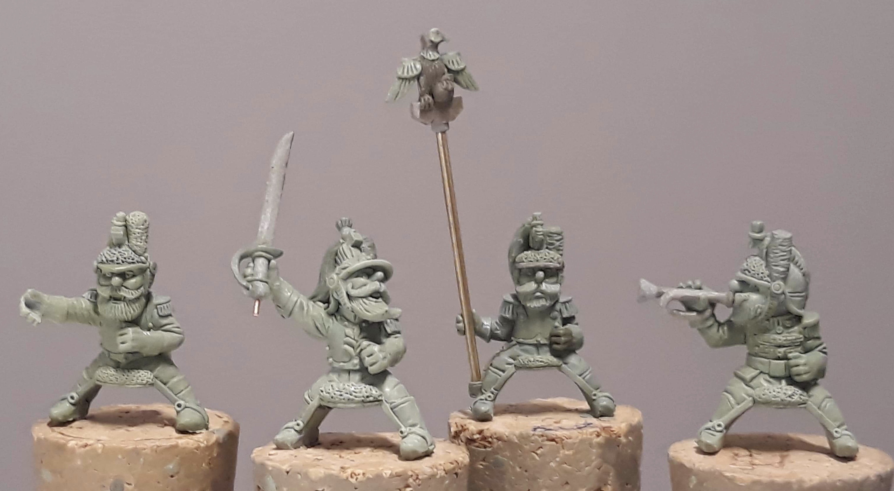 Gnome Wars French Heavy Cavalry Regiment (6) (gets you into Gnome Wars Games at HMGSEast cons)