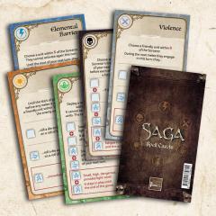 SAGA Age of Magic Dice Set - Order, Magic, Chaos Dice (1 set each)