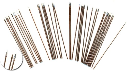 50mm long wire spears (approx 40 pc)