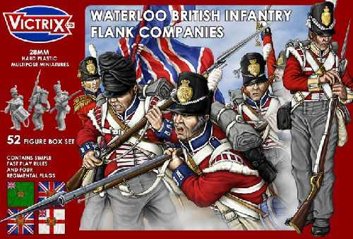 Victrix Waterloo British Infantry Flank Company