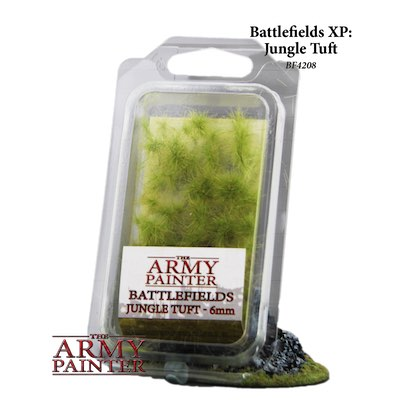 Army Painter - Battlefields: Jungle Tuft, 6mm - XP