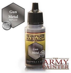 Army Painter Metallics Warpaints - Gun Metal (18ml)