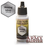 Army Painter Metallics Warpaints - Shining Silver (18ml)