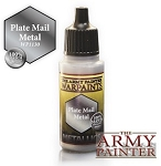 Army Painter Metallics Warpaints - Plate Mail Metal (18ml)