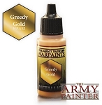 Army Painter Metallics Warpaints - Greedy Gold (18ml)
