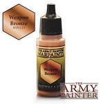Army Painter Metallics Warpaints - Weapon Bronze (18ml)
