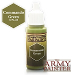 Army Painter Warpaints: Commando Green (18ml)