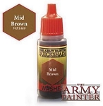 Army Painter Warpaints: WP1469 Mid Brown Wash (18ml)