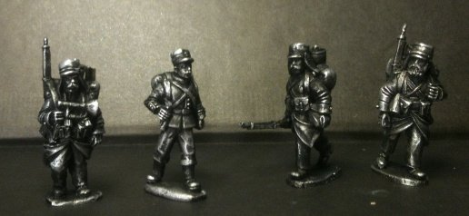 MOD012 - Marching Legion Command/ Characters (4)