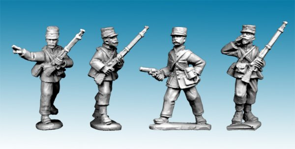 MOD033 - Legion Command in Troupes Colonial Uniform and Kepi (4)