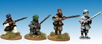 NWF1004 - Afghan Irregulars with Muskets (4)