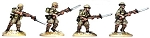 SWW101  British 8th Army Riflemen I (4)