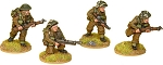 SWW158  British Commando Bren Teams (4)