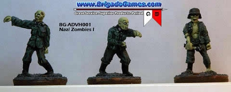 Evil German Zombies (Neubelebentruppen - Reanimated Troopers)(3)