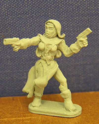 French Nun Advancing with 2 Pistols (Vampire Hunters)