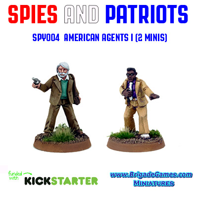 Spies and Patriots - SPY004  American Agents I (2)